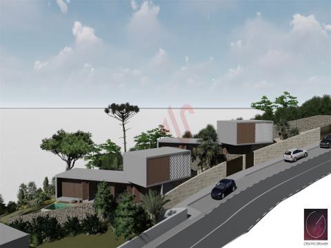 Lote de terreno para construção com uma área total de 1267,46m2 em Calvos, Guimarães