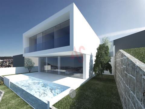 Terreno para construçãocom 450 m2em São Miguel, Vizela