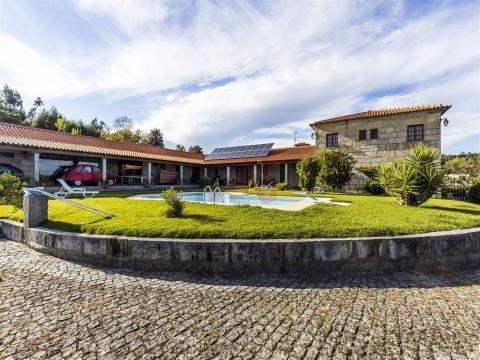 Solar Quinta da Mata em Oleiros, Guimarães