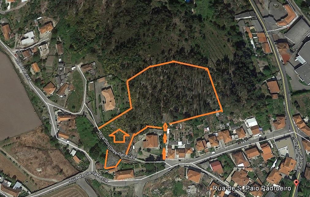 Rustic land in Moreira de Cónegos, Guimarães