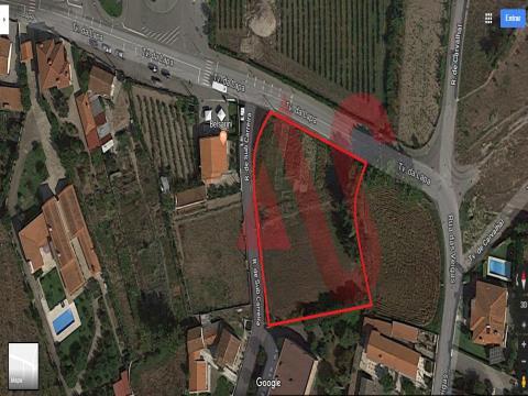 Terreno per la costruzione a São Miguel, Vizela con 3000m2