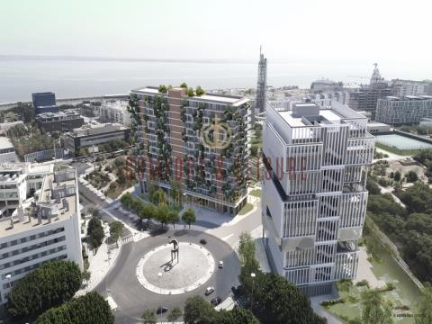 Apartamento T3+1 no Parque nas Nações, Lisboa