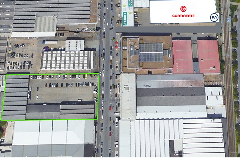 Land in the Industrial Zone of Porto with 5,000 m2