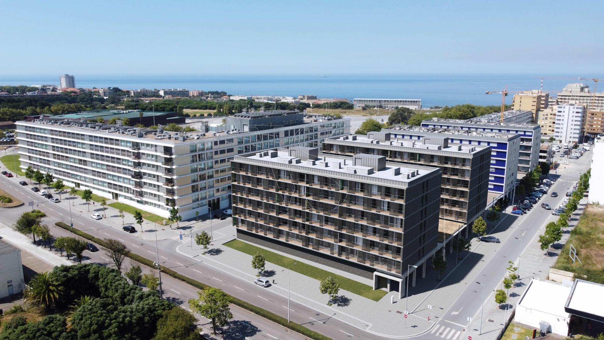 Apartamento T1 Matosinhos Sul - 99,7m2 c/ garagem (T1C1)