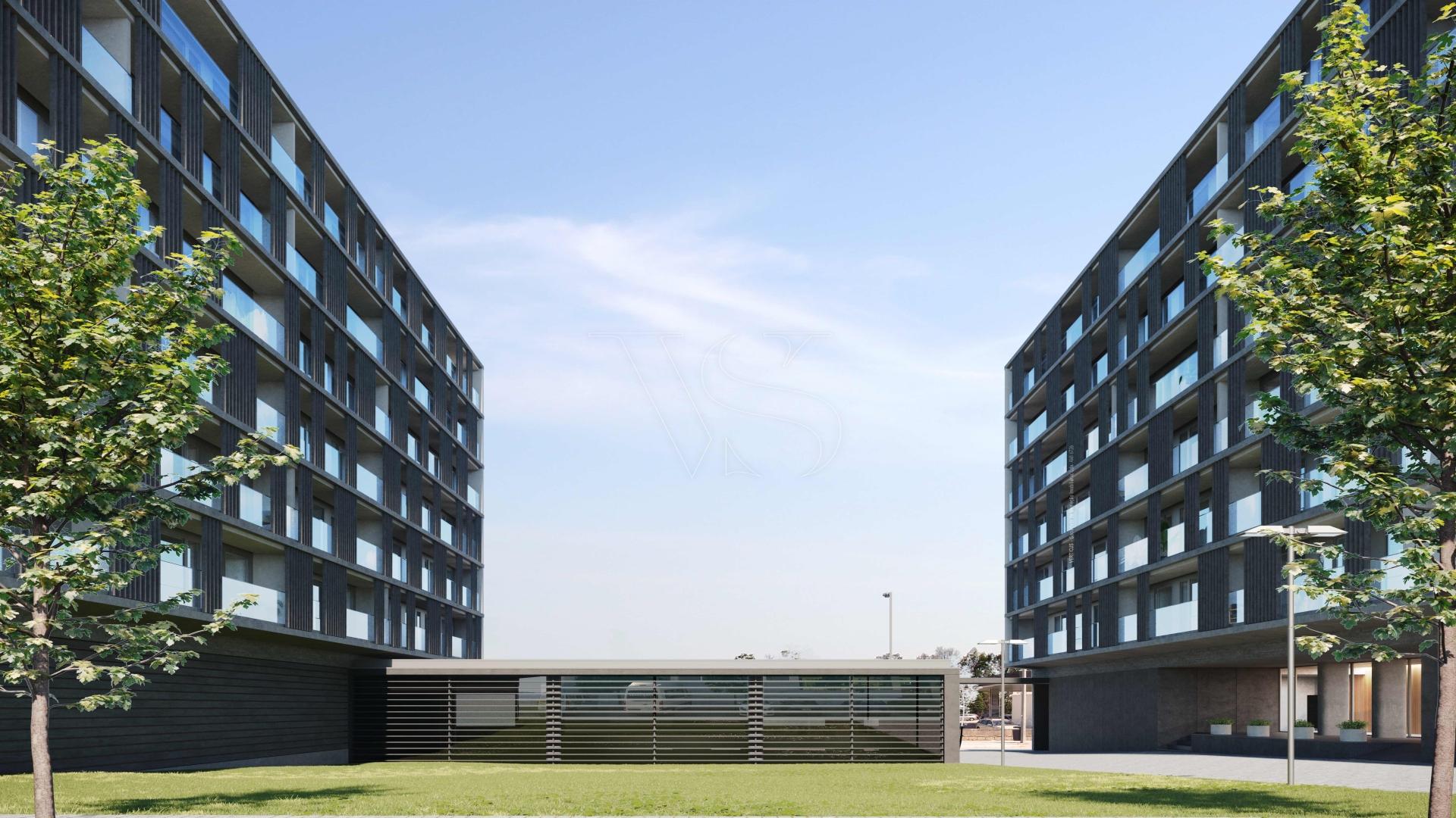 Apartamento T2 Matosinhos Sul - 116m2 c/ garagem (T2B1)