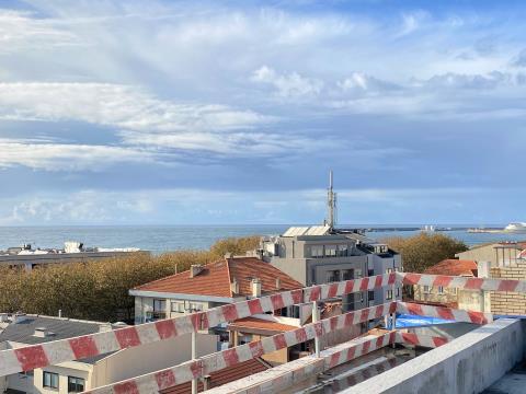 Apartamento T3 Duplex Foz do Douro - 209 m2 c/ 2 Terraços, 2 salas, c/ 3 Lug. garagem (MS T342)