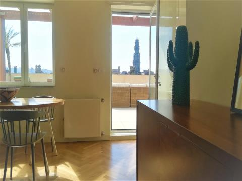 Stunning T2 apartment with best rooftop terrace in Porto