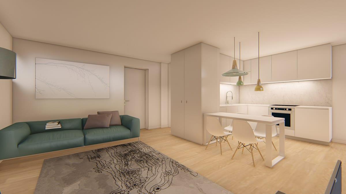 Apartamento T0+1, Porto, Porto
