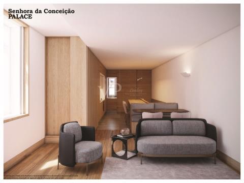 T2 duplex neuf dans le centre de Porto