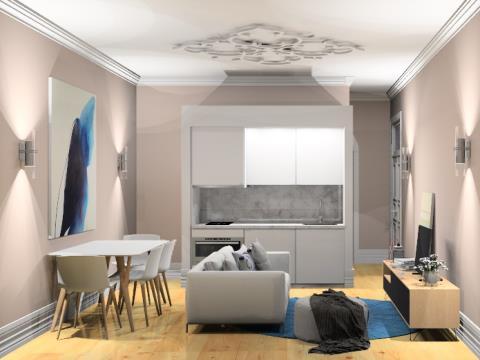 Apartamento T0+2