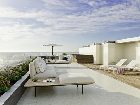 SEASHORE, Apartamento T3 Duplex Swim spa, praia, Vila N.Gaia