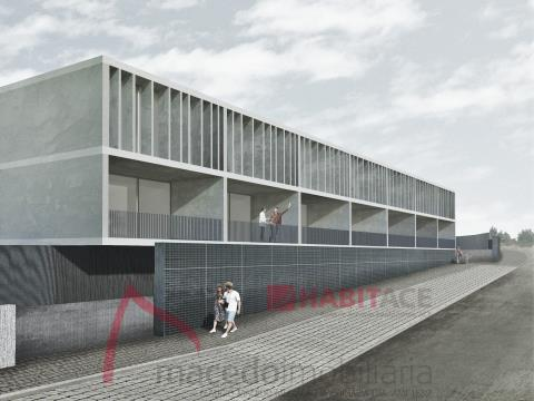 Moradias T3 em Gualtar, Braga, arquitetura moderna