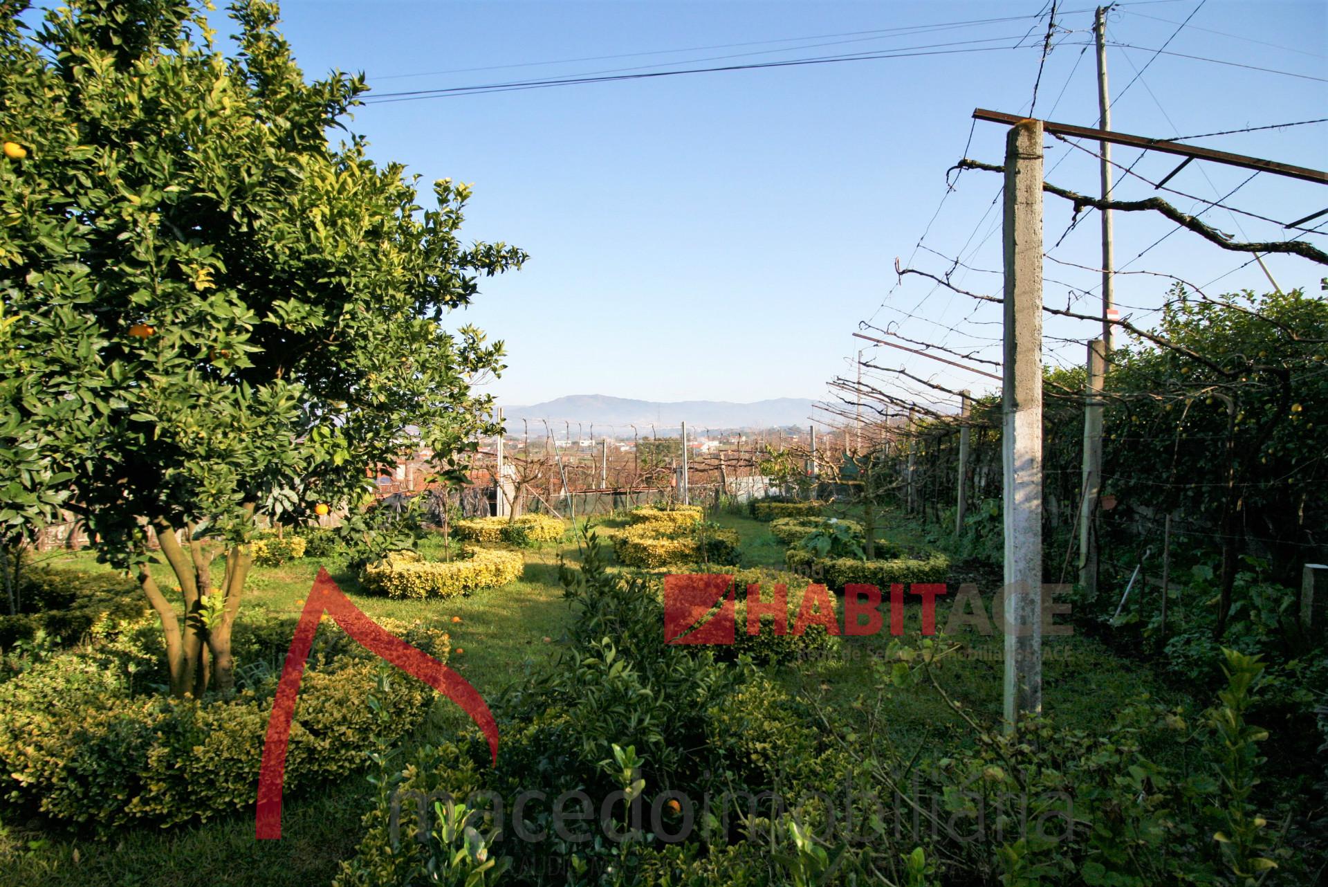 Moradia para venda em Adaúfe + Espaço comercial + terreno com 1995m2