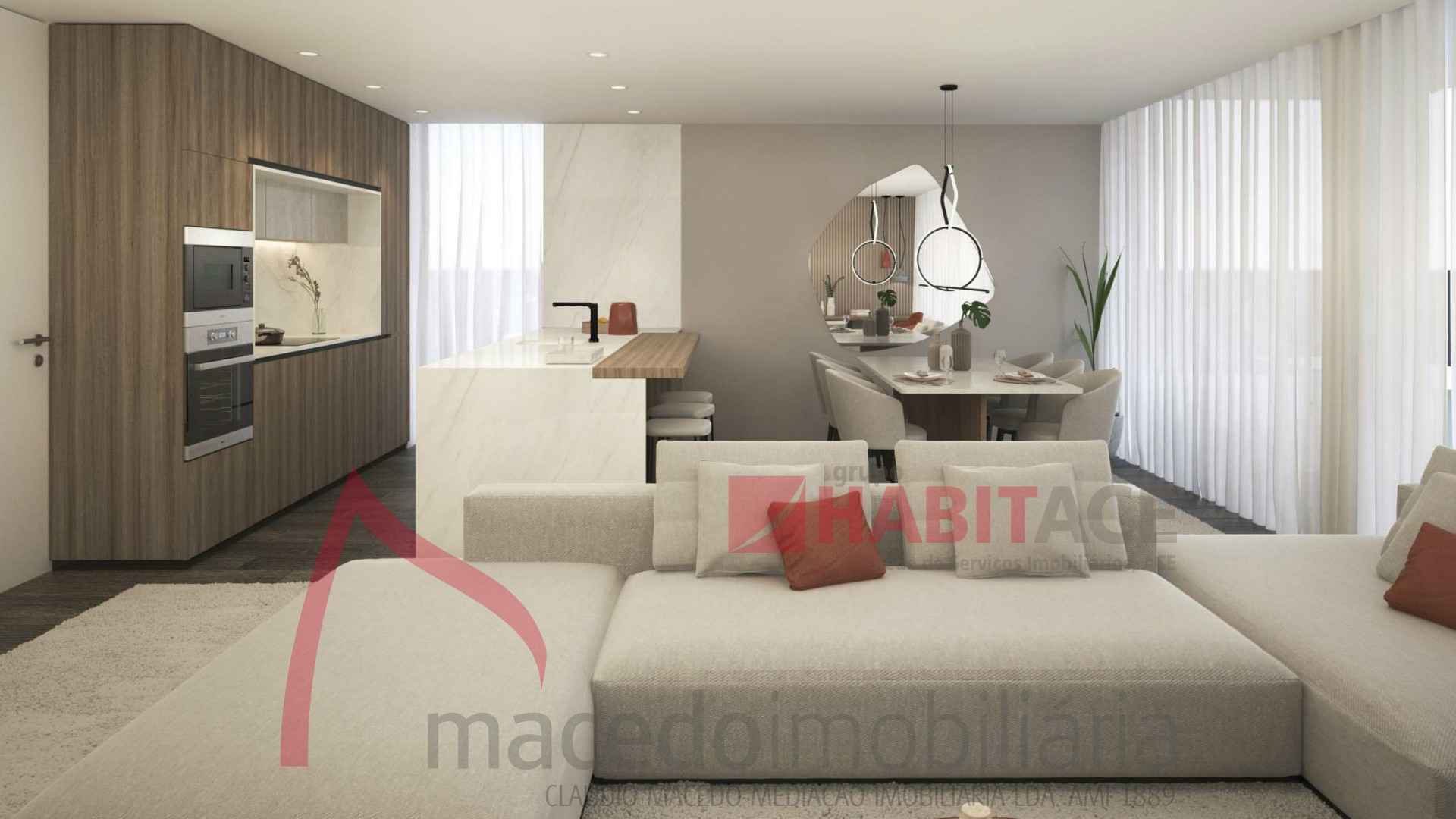 Apartamento T4 de Luxo para venda em Braga