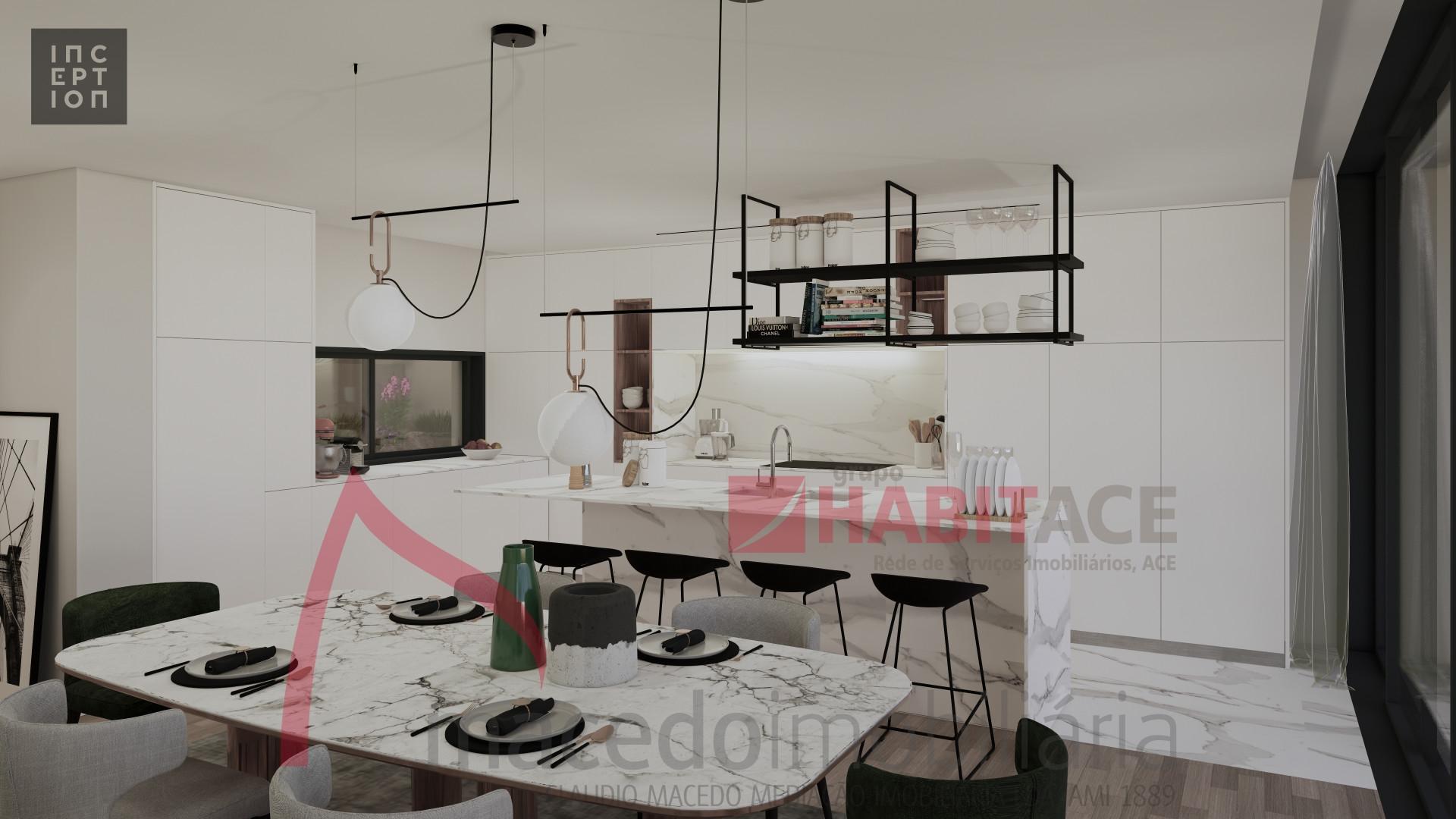 Moradia térrea T3 em Palmeira - Arquitetura moderna