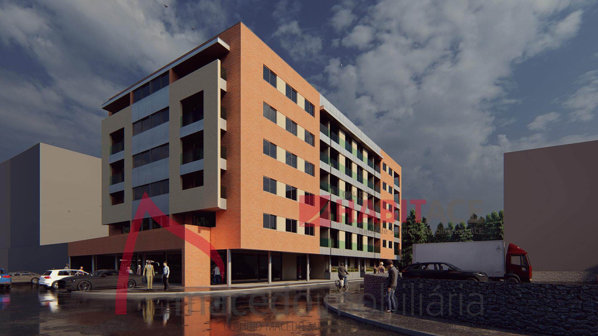 Apartamento T3 com terrraço novo em Vila Verde