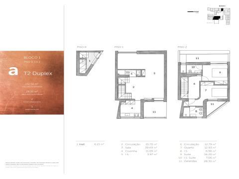 Villa Sanches - Unidade A - T2 Duplex