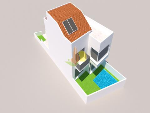 Semi-detached house T3