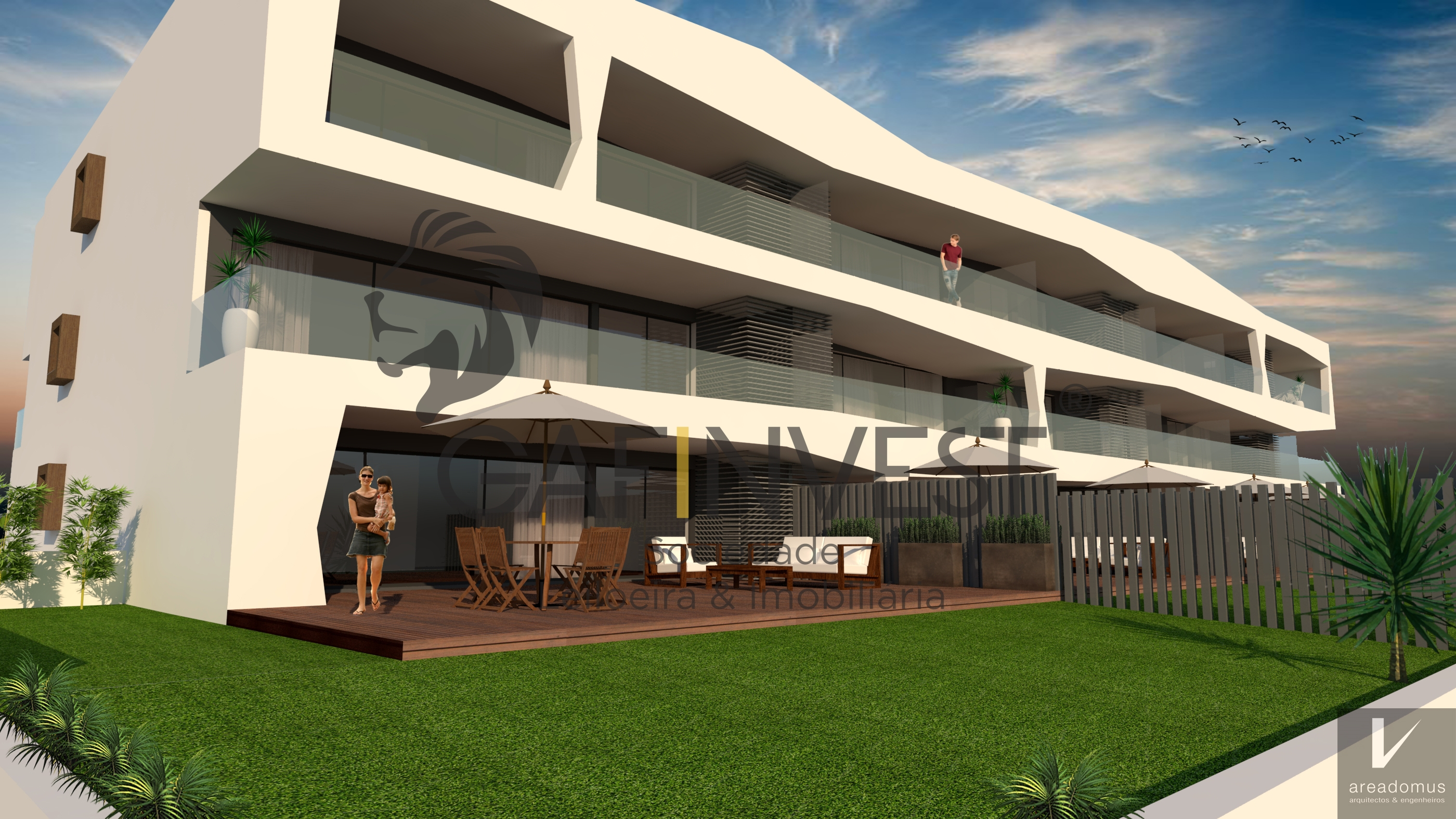 Apartamento T2 c/ Terraço Duplex Novo na Costa Nova