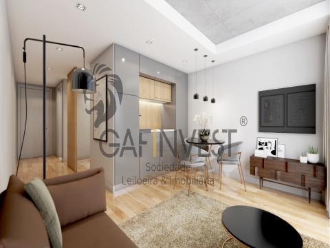 Apartamento T1 em fase de Construção, Aveiro.