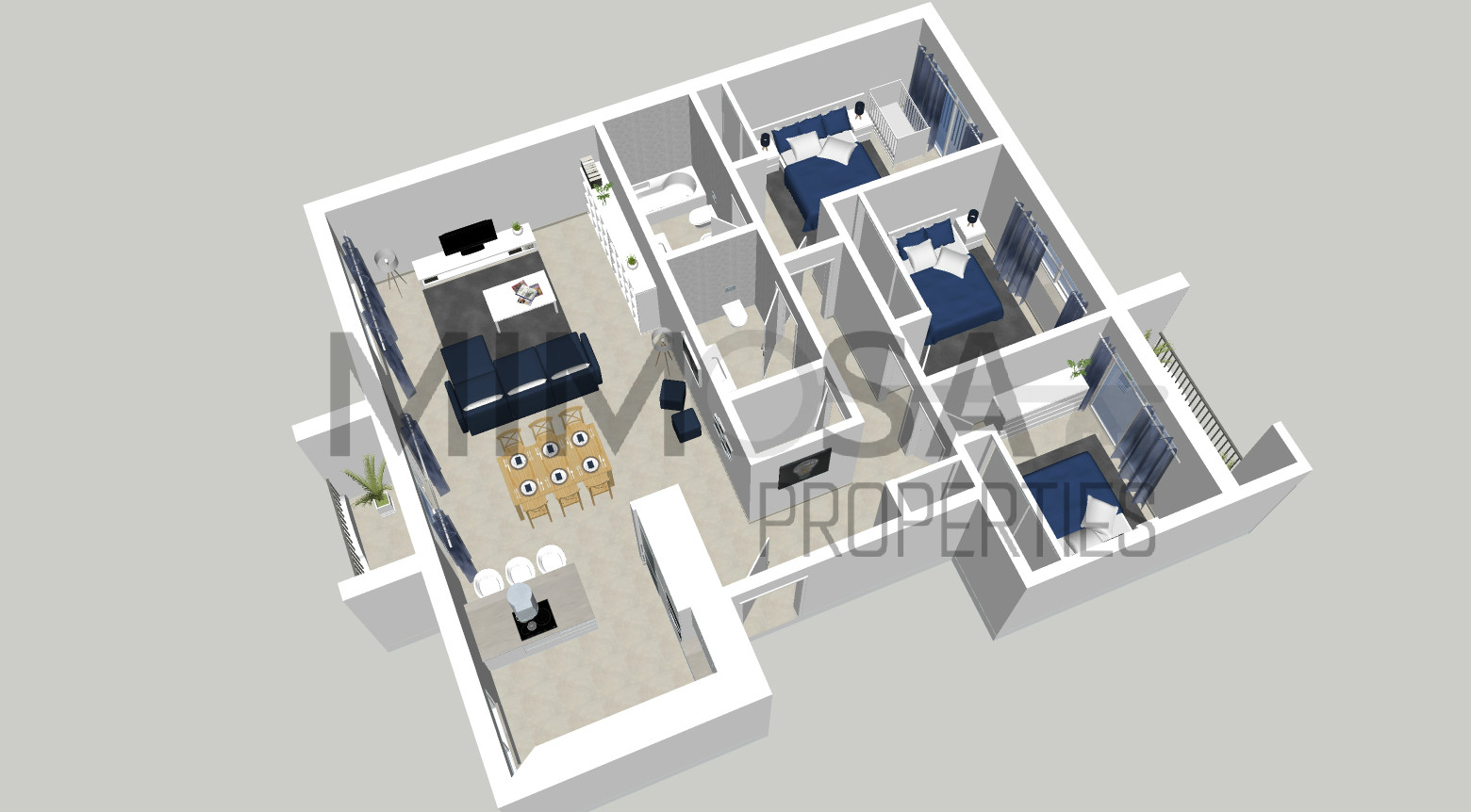 Apartment 3 Bedrooms