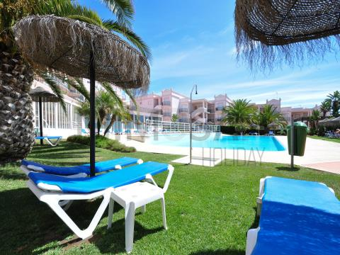 Apartamento T1 com piscina na Praia da Luz, Lagos