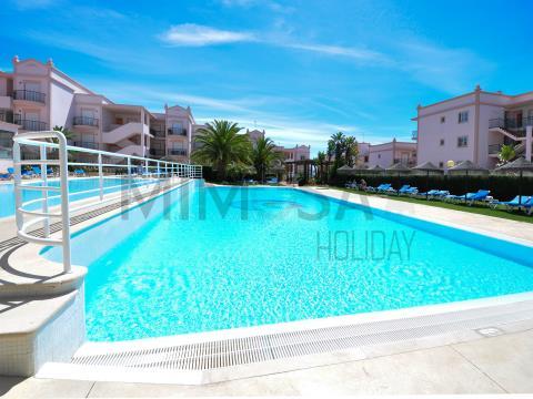 1 slaapkamer appartement met zwembad in Praia da Luz, Lagos