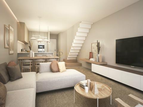 Nuevos apartamentos Dúplex de 3 habitaciones en comunidad cerrada, Ofir - Esposende