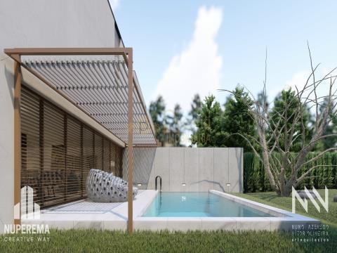 4 bedroom villa under construction, Urgezes, Guimarães