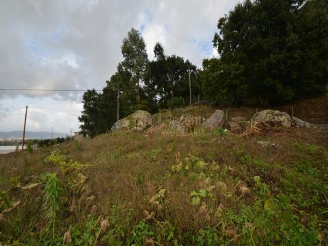 Terreno com projeto aprovado para uma moradia