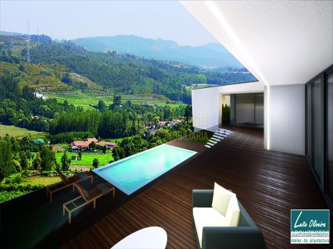 Villa con 3+1 camere da letto a Gonça, Guimarães