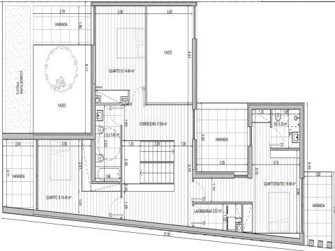 Terreno (LtB) para Construção com Projeto Aprovado