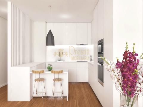Fantastic 2 bedroom apartments under construction in Guimarães