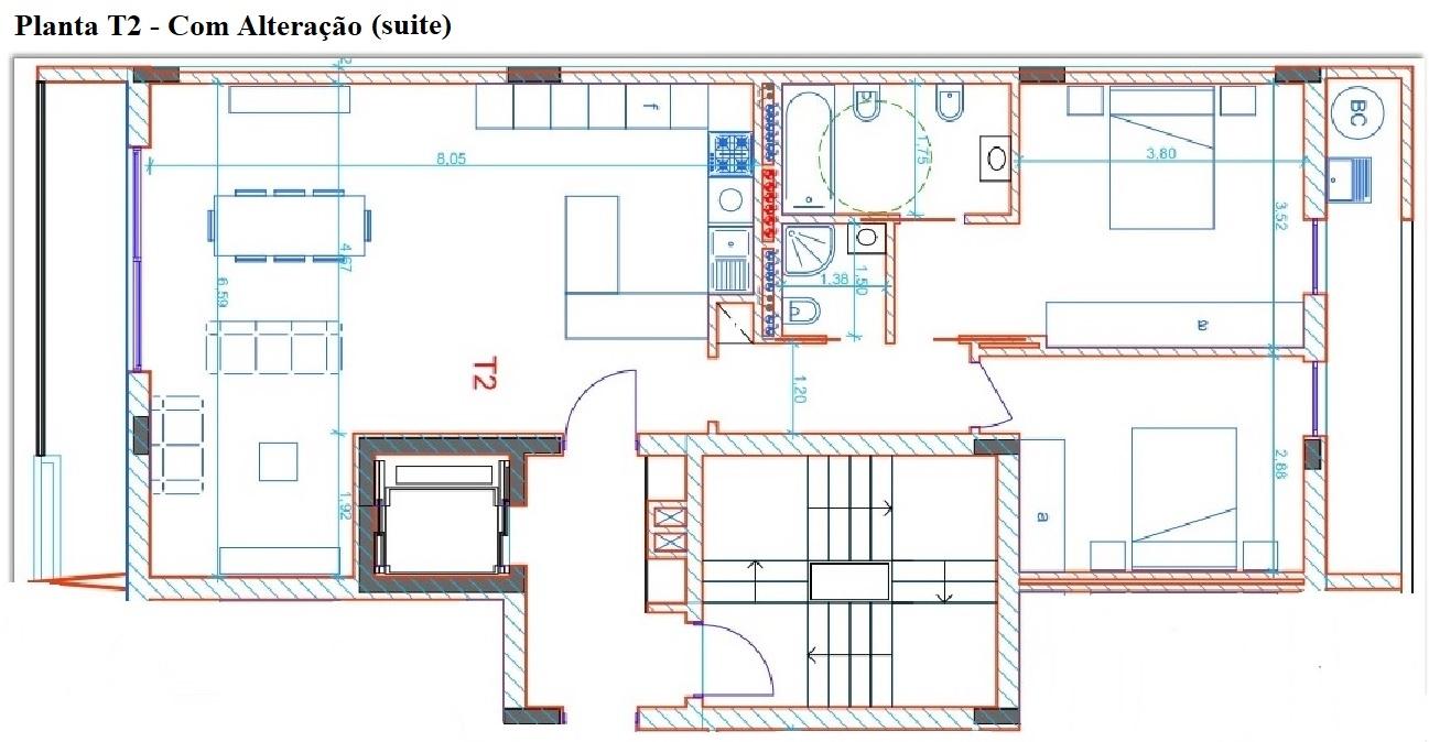 Nuovi appartamenti con 2 camere da letto in Penthouse, Creixomil, Guimarães
