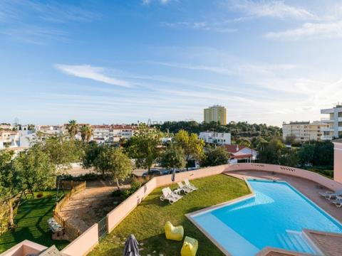 Appartamento T1 - Gated Community - Piscina - Alvor - Amoreira
