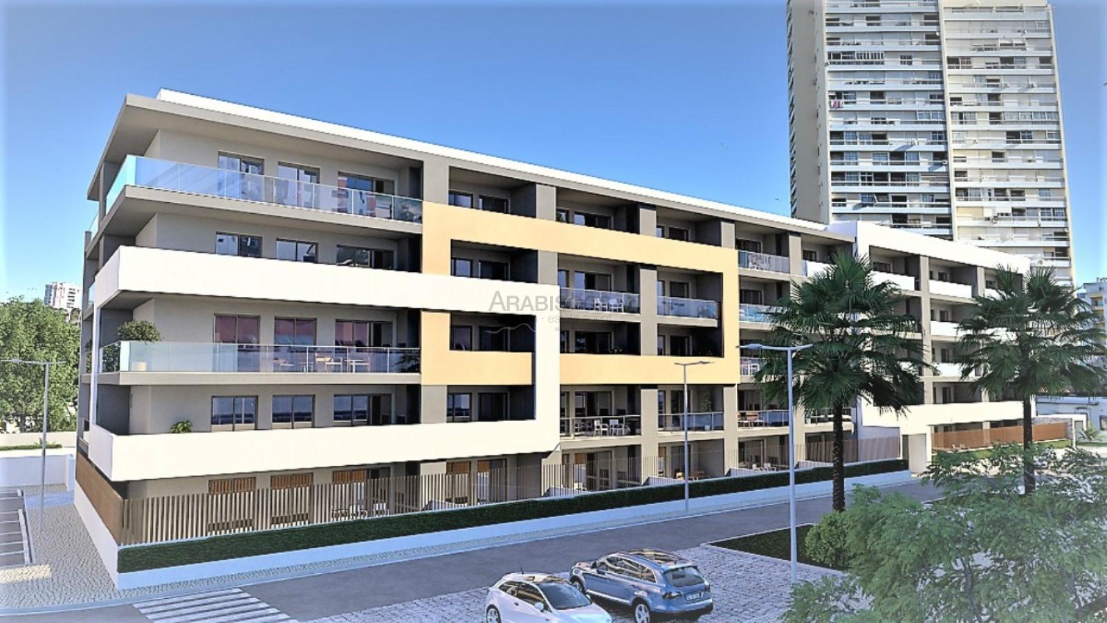 Wohnung T1 - Private Eigentumswohnung - Freizeiträume - Praia da Rocha