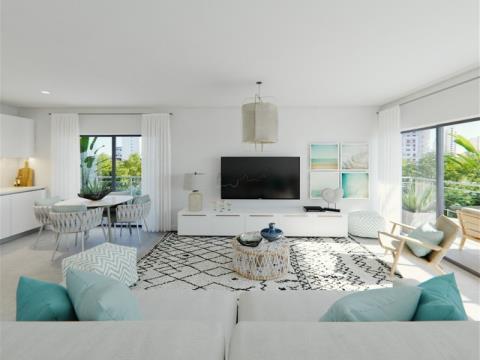 2 Schlafzimmer Apartments - private Eigentumswohnung, - Grünflächen - Swimmingpool - Praia da Rocha