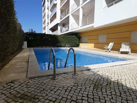 2-Zimmer-Wohnung - Private Eigentumswohnung - Swimmingpool - Garagenplatz - Portimão - Alto do Quint