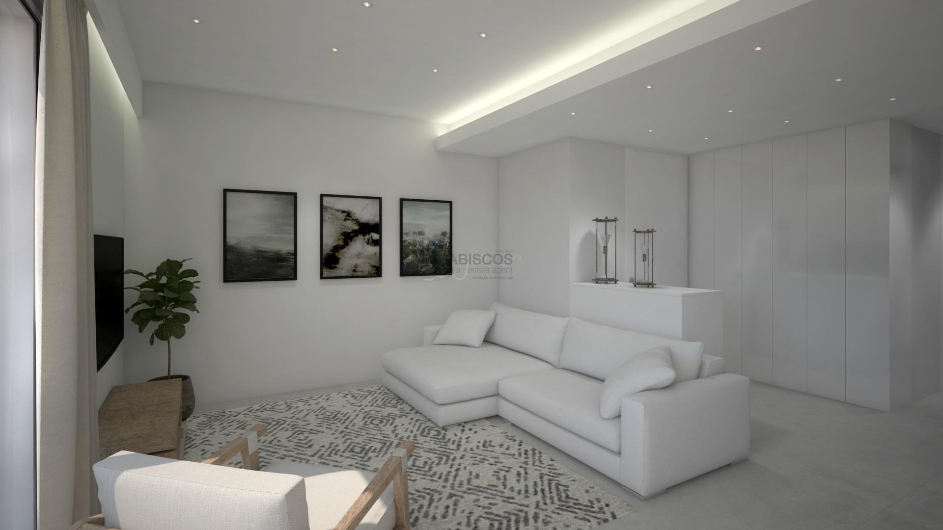 Apartamento T2 - Jardim Privativo - Piscina - Ar Condicionado - Lugar de Garagem - Burgau