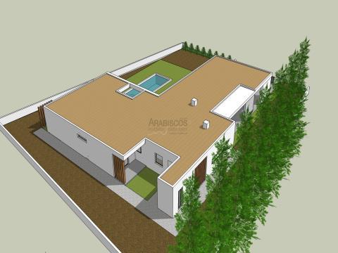 Moradia em construção T3 - Piscina - Portimão - Serra e Mar