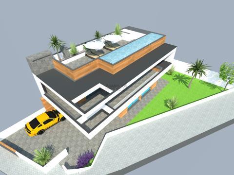 Lote de Terreno - Vista Rio Arade - Projecto Aprovado - Parchal - Algarve
