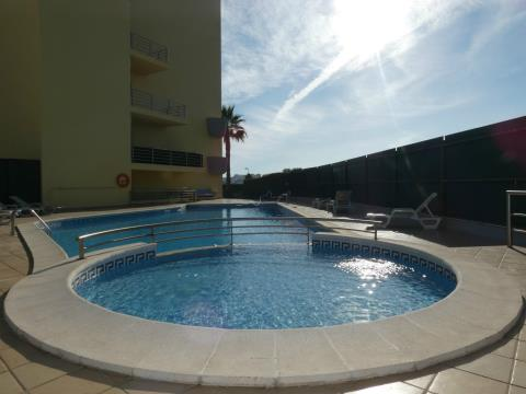 Apartment T1 - Pool - South balcony - Barbecue - Parking space - Storage - Lagos - Algarve