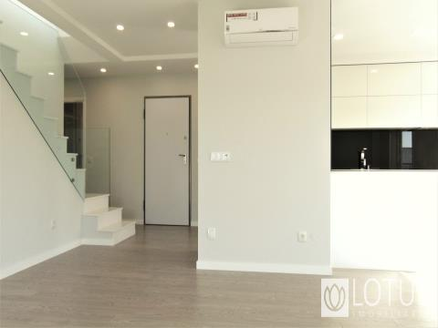 Duplex apartment with terrace and storage available for sale!