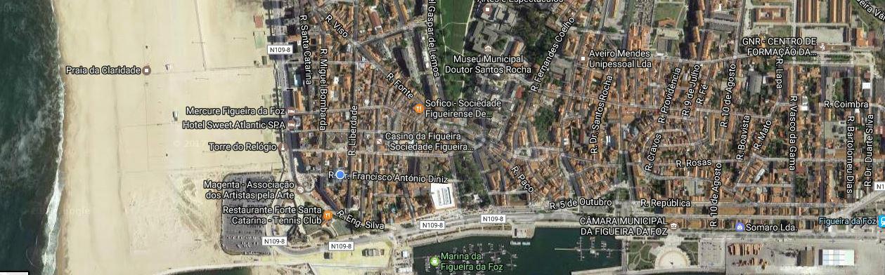 Centro/Baixa Prédio junto à Marina