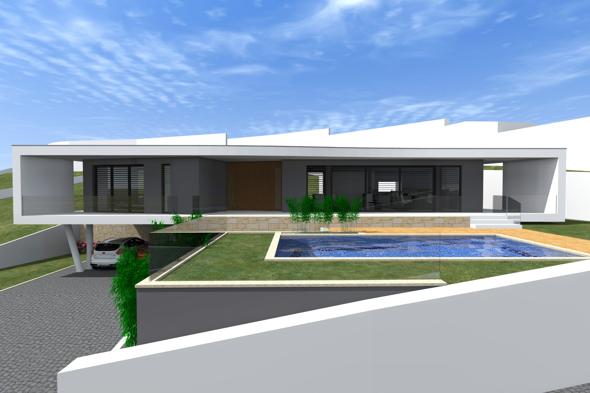 vila verde, centro, lote individual, panoramico, luxo