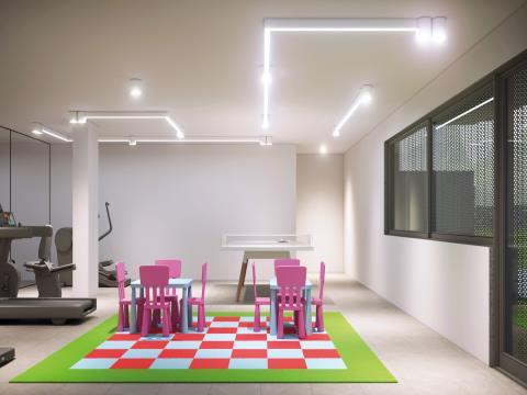 Central; Arquitetura; Churrasqueira; Carregamento Electrico/Autos; Parque Bikes; Pain./Fotovoltaicos