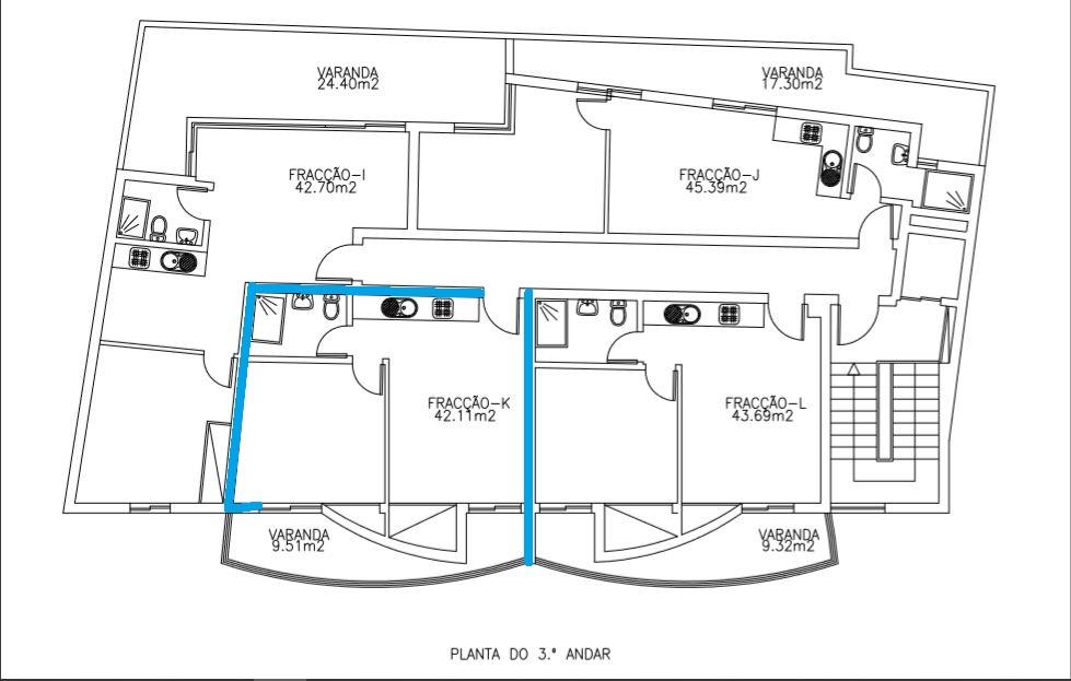 -Appartamento T1 nel centro di Machico a due minuti dalla spiaggia. € 135.000