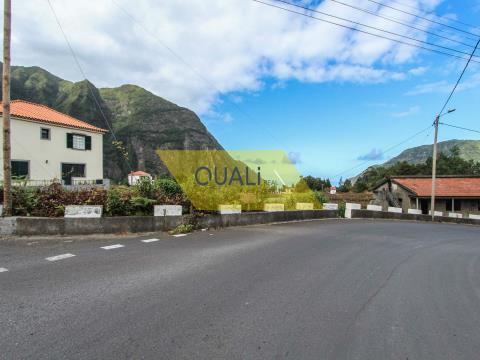 492 m2 Grundstück in São Vicente - Madeira. €30.000,00