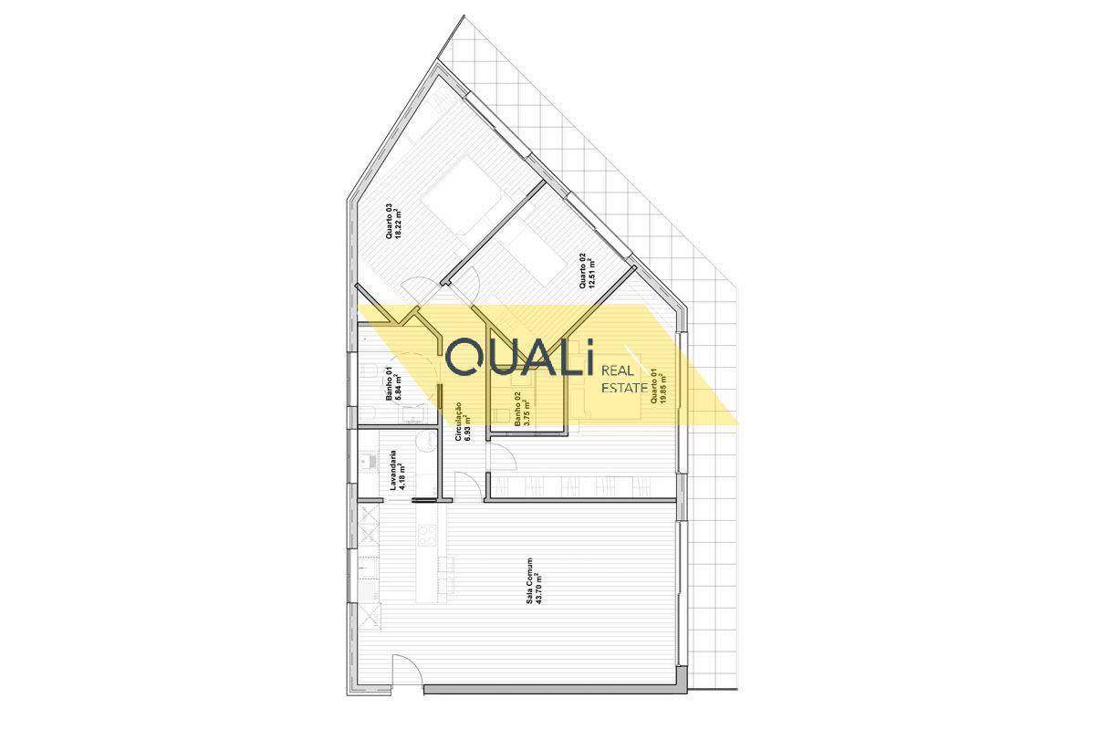 Apartamento de 3 quartos em São Martinho Funchal €275.000,00