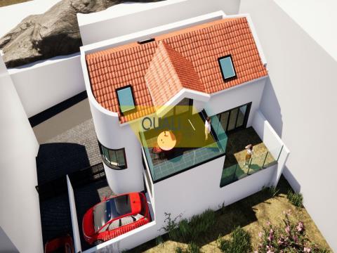 117 m2 Grundstück mit Projekt eines Hauses T1 in Funchal - Madeira Insel - € 90.000,00